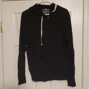 Men's lightweight hoodie American Rag large black
